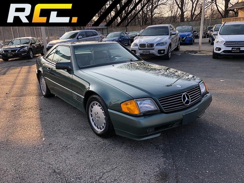 Used 1991  Mercedes-Benz SL-Class 2d Convertible 500SL at Royal Car Center near Philadelphia, PA