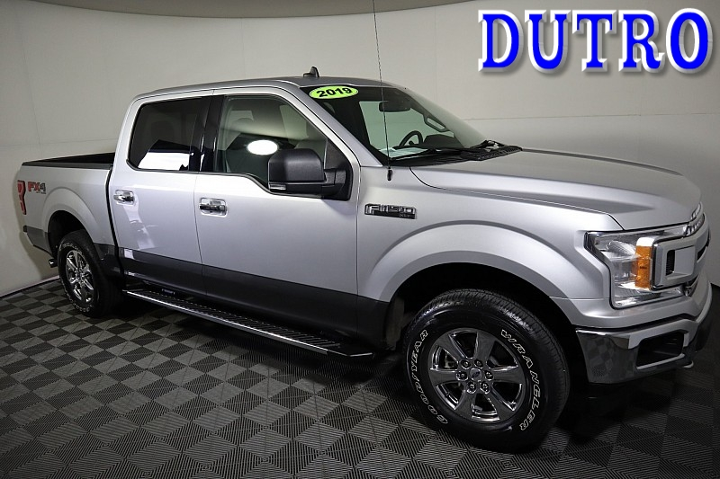 Used 2019  Ford F150 4WD SuperCrew XLT 5 1/2 at Graham Auto Mall near Mansfield, OH