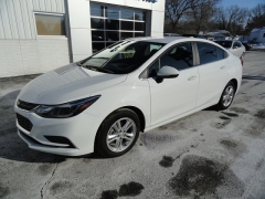 2017 Chevrolet Cruze 4d Sedan LT Auto at JC Carey Motors near Savanna, IL