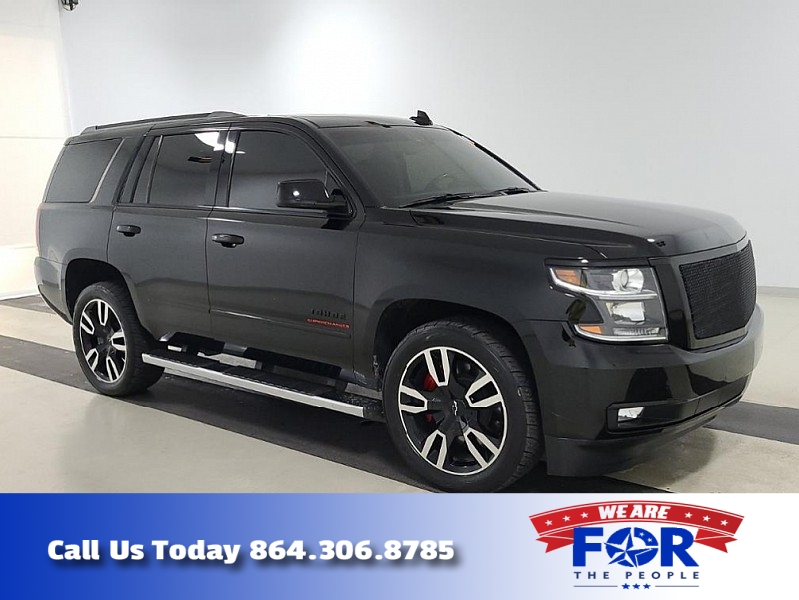 Used 2018  Chevrolet Tahoe 4d SUV RWD Premier RST Performance at The Gilstrap Family Dealerships near Easley, SC
