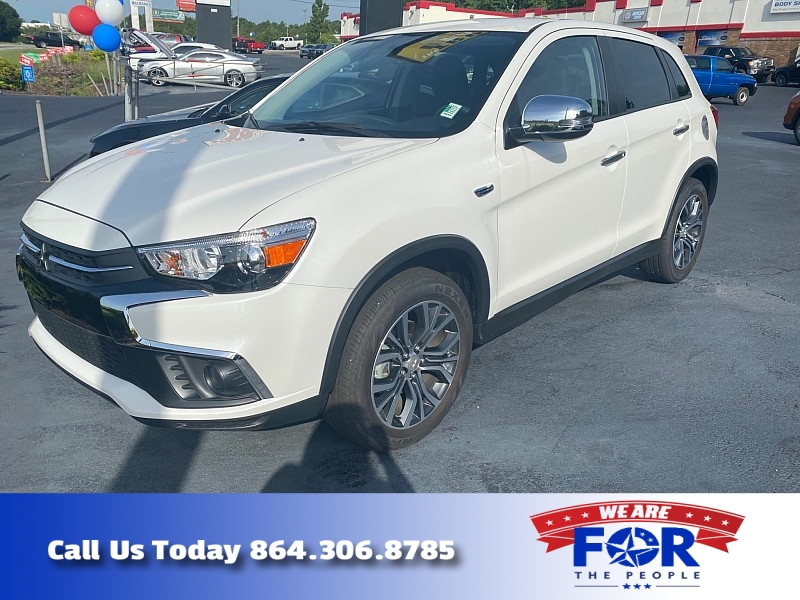 New 2019  Mitsubishi Outlander Sport 4d SUV AWC 2.0L ES at The Gilstrap Family Dealerships near Easley, SC