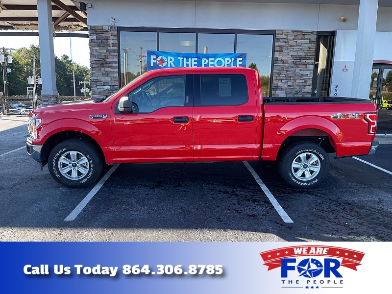 Used 2020  Ford F150 4WD SuperCrew XLT 5 1/2 at The Gilstrap Family Dealerships near Easley, SC