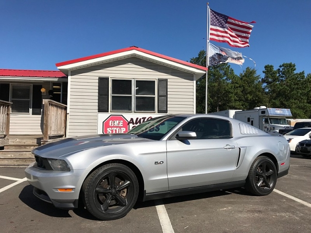 Used 2011  Ford Mustang 2d Coupe GT Premium at One Stop Auto Sales near Macon, GA