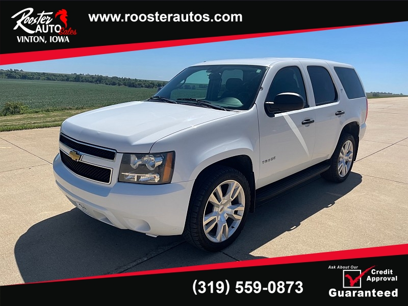 Used 2013  Chevrolet Tahoe (Fleet) 4d SUV 4WD at Rooster Auto Sales near Vinton, IA
